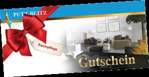 """Das besondere Geschenk: Gutschein für eine """"Raumpflege mit Herz & System"""""""
