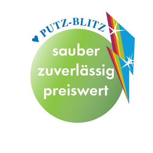Button: PUTZ-BLITZ sauber, zuverlässig, preiswert